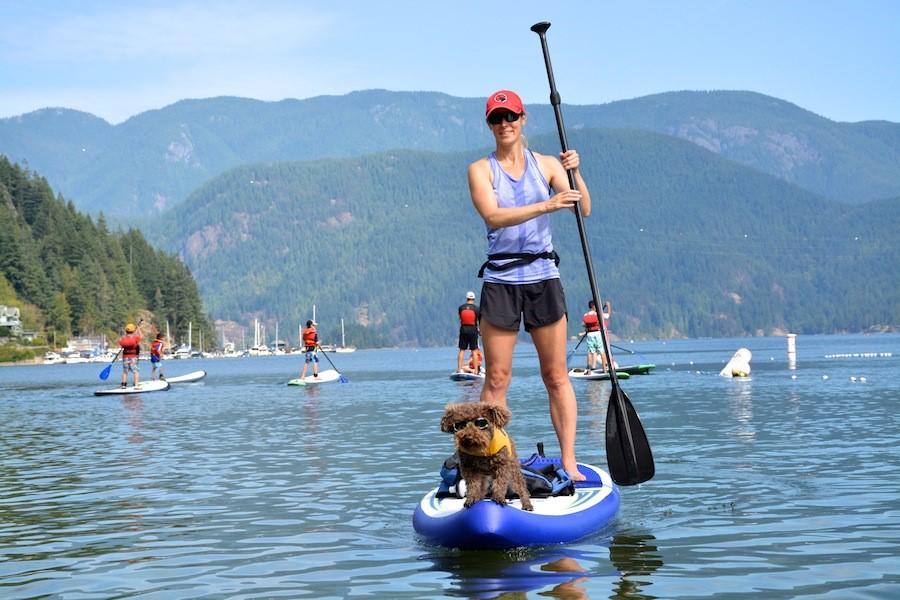 Guía rápida para practicar Paddle Surf con mascota