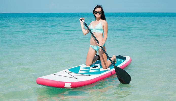 Los 6 grandes beneficios que te da el Paddle Surf