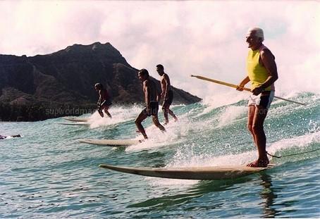 Orígenes del Paddle Surf