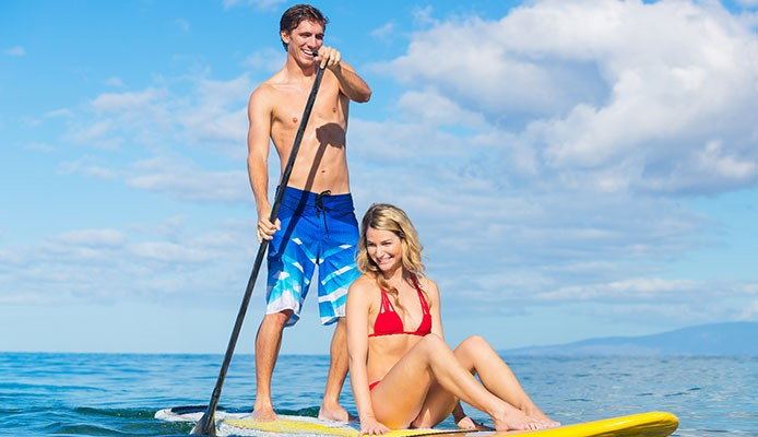 Cosas románticas para hacer en una Tabla de Paddle Surf
