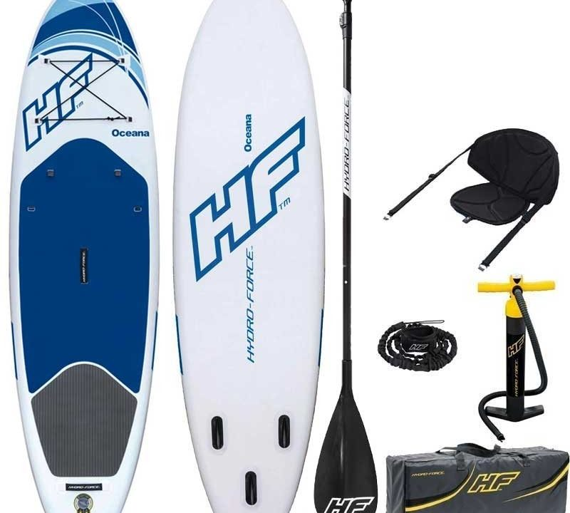 Review PaddleSurfea: Tabla Paddle Remo hinchable Hydro-Force Oceana