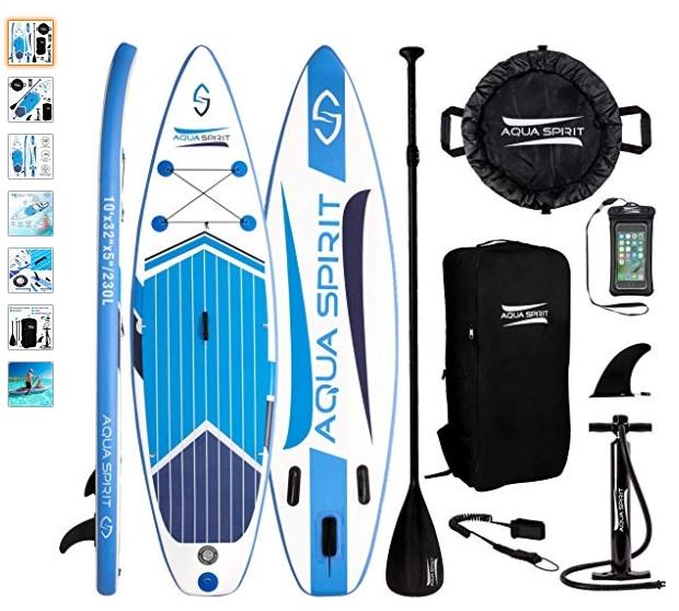 Review Paddle Surfea: Tabla Paddle Surf Hinchable Aqua Spirit
